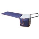 坐長途飛機上便攜充氣吊腳墊墊腳足踏飛行枕頭旅行u型枕睡覺神器