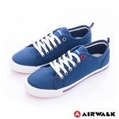 美國AIRWALK- U.S.A.夏日彩漾綁帶帆布鞋(女) 藍 390元起
