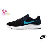 NIKE REVOLUTION 4 成人男款 輕量透氣慢跑鞋 運動鞋 P7166#黑藍◆OSOME奧森鞋業