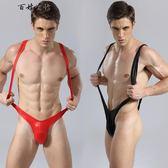 背帶式可調節連體性感男士內褲吊帶男奴  百姓公館