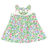 【愛的世界】純棉牽牛花印花無袖洋裝/1~2歲-台灣製- - ---春夏洋裝 涼夏推薦