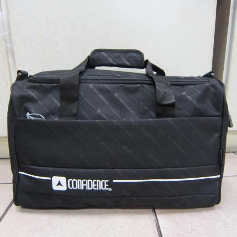 ~雪黛屋~CONFIDENCE 旅行袋MIT製防水尼龍布1680D U型大開口設計方便取放大型物品ACB8102