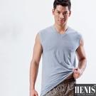 HENIS 2件組時尚型男快乾棉彩色無袖衫 隨機取色 HS513