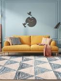 臥室地毯 北歐客廳床邊地毯臥室房間ins 風茶幾毯現代簡約幾何家用地墊子