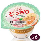 日本Tarami綜合優格果凍6入/盒(230g/個)【愛買】