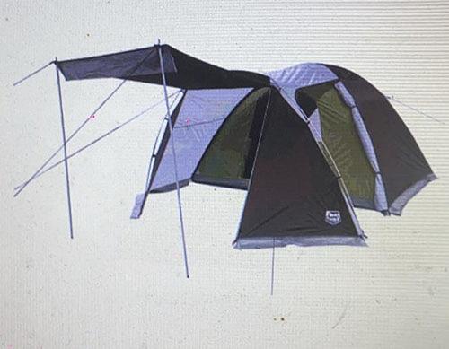 [COSCO代購] W198539 Timber Ridge 全罩型六人前庭圓頂帳
