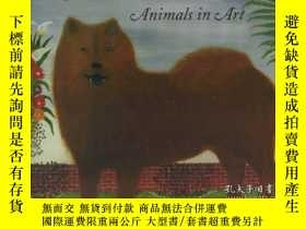 二手書博民逛書店Noble罕見Beasts; Animals in ArtY34