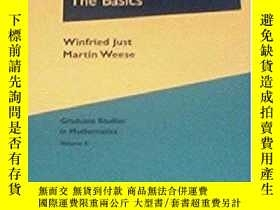 二手書博民逛書店Discovering罕見Modern Set Theory. I: The BasicsY256260 Wi