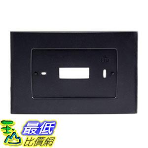 [107美國直購] Emerson Thermostats SA5B Wall Plate Sensi Touch Wi-Fi Black