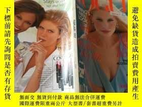 二手書博民逛書店VOGUE罕見FEBRUARY 1997154614 出版199