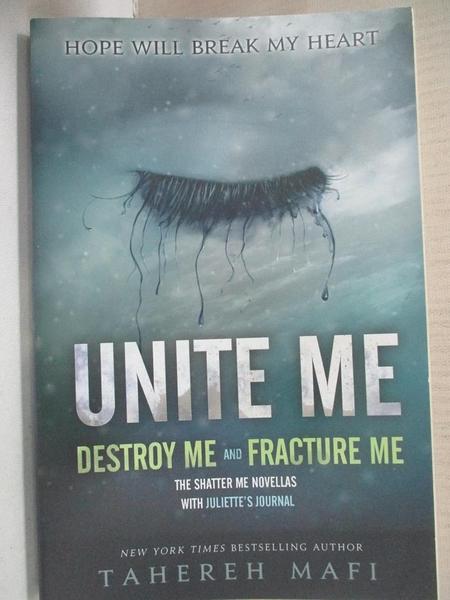 【書寶二手書T5/原文小說_DAH】Unite Me_Mafi, Tahereh