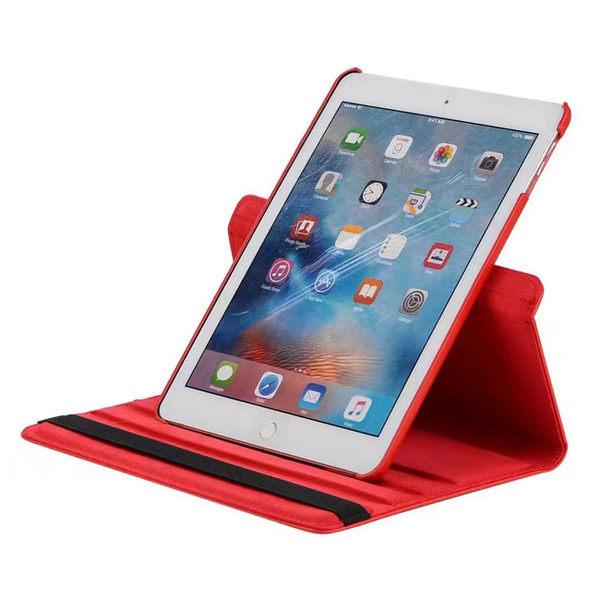 蘋果 iPad 9.7吋 2017版 2018版荔枝紋 旋轉 皮套 保護套 支架 平板皮套 糖果色 保護殼 皮質 防摔