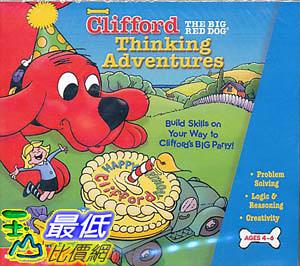 [106美國暢銷兒童軟體] Clifford The Big Red Dog Thinking Adventures CD-ROM Parent s Guide Ages 4-6