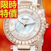 鑽錶-唯美潮流撫媚鑲鑽女腕錶4色62g23【時尚巴黎】