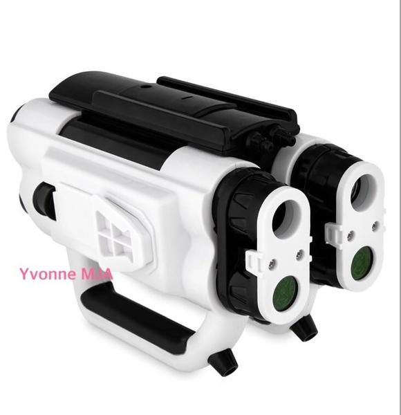*Yvonne MJA* 美國迪士尼 限定正品 Star Wars 星際大戰 銀河邊緣一階四筒望遠鏡玩具