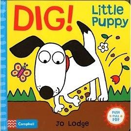 『小動物的伸展操 』 DIG! LITTLE PUPPY  (知名作家:Jo Lodge的操作書)