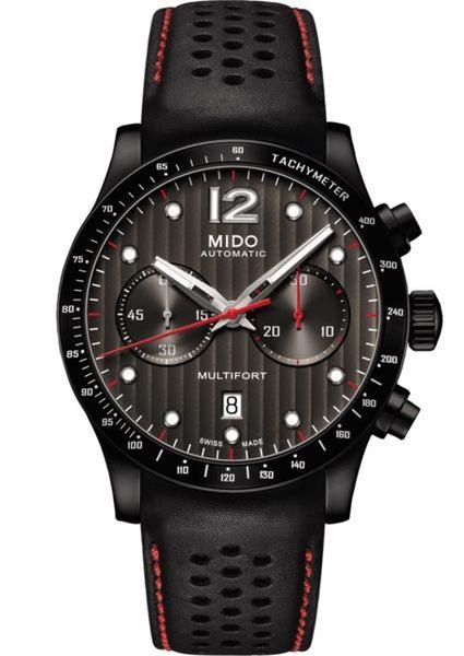 MIDO美度Multifort先鋒系列機械計時碼錶(M0256273606100)黑/44mm