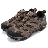 Merrell 戶外鞋 Moab 2 Vent 咖啡 黑 透氣 越野 休閒鞋 運動鞋 男鞋【ACS】 ML06011