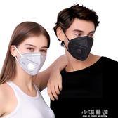 口罩防塵透氣工業粉灰防毒男女夏打磨噴異味黑『小淇嚴選』