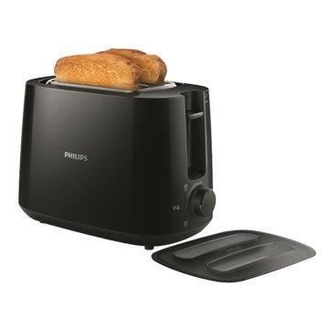 PHILIPS 飛利浦 飛利浦HD2582/92電子式智慧型厚片烤麵包機 黑