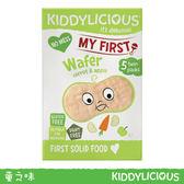 【2入組合包】英國 Kiddylicious童之味 胡蘿蔔蘋果小米餅 寶寶幼兒最愛零食點心3g*5/盒