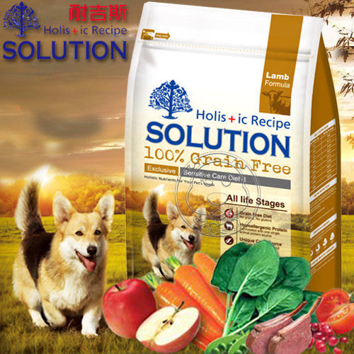 【ZOO寵物樂園 】耐吉斯 無穀食譜《成幼犬│澳洲羊肉》低敏柔膚配方3lbs/1.36kg