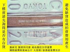 二手書博民逛書店TOKYO罕見art directors club annual 2000日本ADC 2000年鑒Y47558