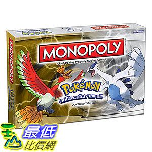 [美國直購] ThinkGeek Pokemon Monopoly Johto Edition 神奇寶貝 精靈寶可夢周邊