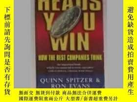 二手書博民逛書店英文原版罕見Heads, You Win! by Quinn S