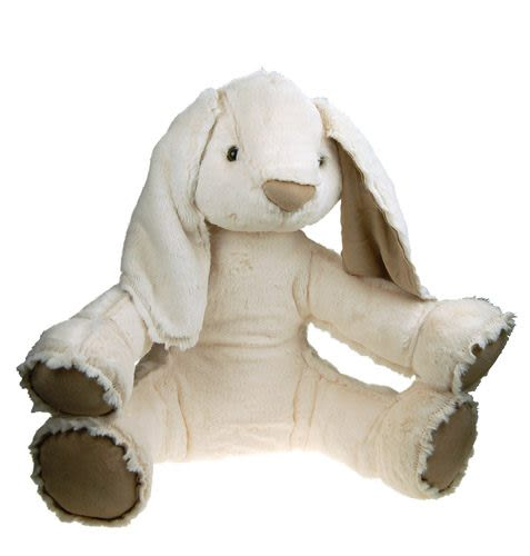 絨毛小兔坐姿玩偶 40cm【Les Petites Marie】