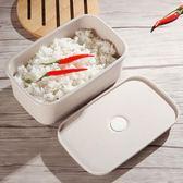 飯盒小麥飯盒湯盒日式便當盒學生微波爐餐盒 分格成人可愛1層單層兒童 免運直出 交換禮物
