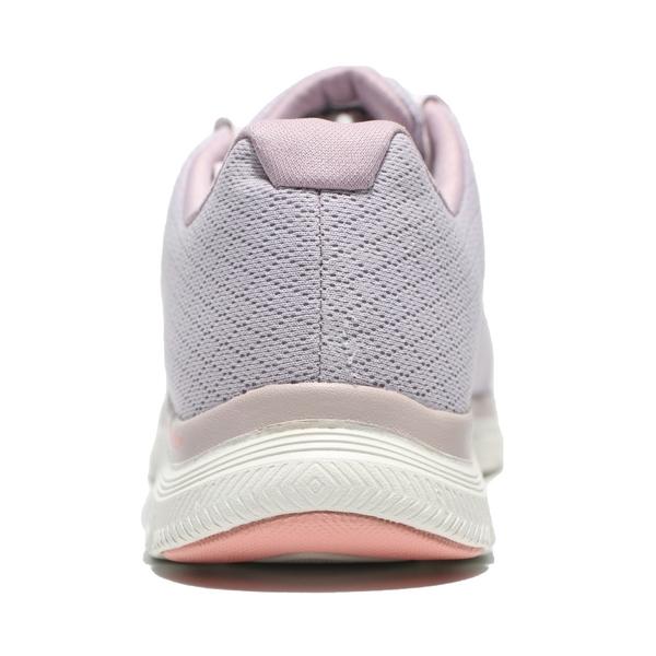 SKECHERS 健走鞋 FLEX APPEAL 4.0 防水 粉紫 粉紅 網布 慢跑鞋 女 (布魯克林) 149298ROS