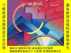 二手書博民逛書店Business罕見English At Work Student Text workbook cd Packag
