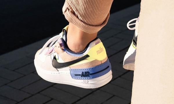 IMPACT Nike Air Force 1 Shadow 馬卡龍 雙勾 CU8591-001