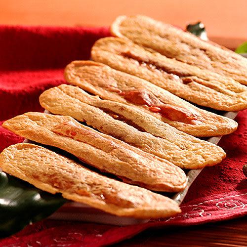 【美雅宜蘭餅】黑糖芝麻牛舌餅X15包