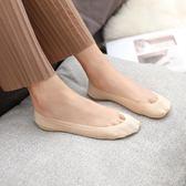 蕾絲短筒襪純棉淺口硅膠防滑襪 五雙裝
