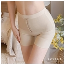 Catworld 排釦高腰提臀塑型束腹褲【18810091】‧M/L/XL