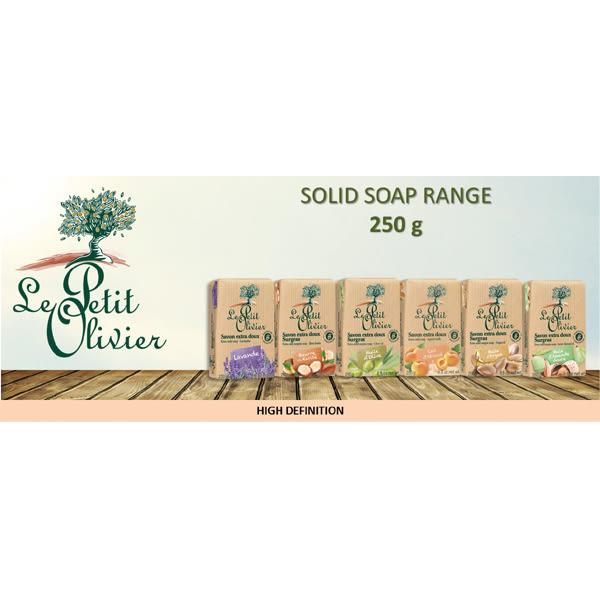 法國【小橄欖樹】草本保濕超柔香皂-乳油木 250g(有效期限:2024.02)