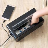 電線插排收納盒插線板集線盒 電源線插座數據線收納整理盒