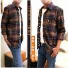 【大盤大】(S10323) 男 純棉襯衫 M-2XL 口袋 格紋 薄外套 格子襯衫 法蘭絨 長袖 百搭 內刷毛 上班族