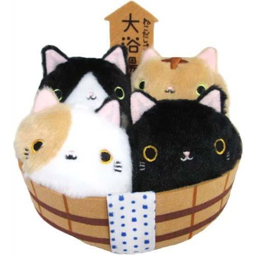 日本超熱賣 沙包貓 收納大浴場 不含沙包貓 該該貝比日本精品 ☆