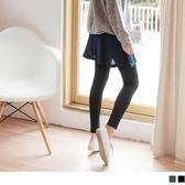 《BA4626》台灣製造.內刷毛假兩件褲裙 OrangeBear