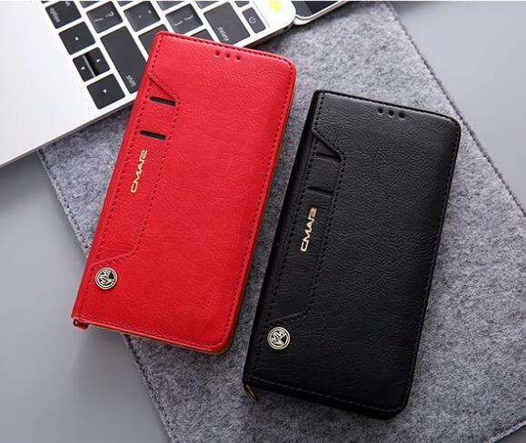 三星 S10 S10+ S10e 手機殼 商務 翻蓋 皮套 可放卡片 插卡 支架 保護套 全包 軟殼 簡約 保護殼