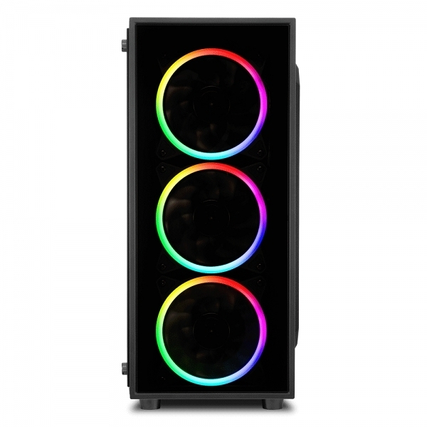 旋剛 TG4 炫彩者 (RGB)/顯卡長37.5/CPU高16/A.RGB風扇/玻璃透側/ATX 機殼