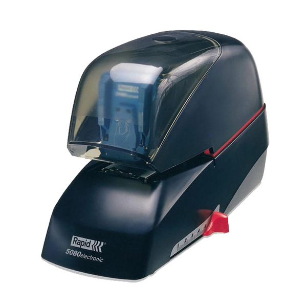 分期0利率 RAPID 瑞典 5080 平針 電動 訂書機 釘書機 顏色隨機