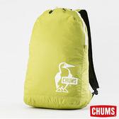 CHUMS 可收納後背包-萊姆綠 【GO WILD】
