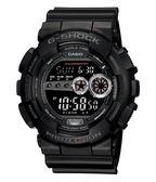 [優惠特價] G-SHOCK | GD-100-1B 大錶徑漆黑款 GD-100-1BDR 消光黑