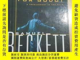 二手書博民逛書店Waiting罕見for Godot: A Tragicomed