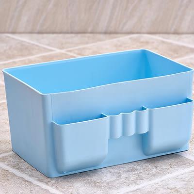 【全館5折】WaBao 桌面雜物整理防水瀝水多格收納盒 =ZT3138=