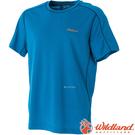 Wildland 荒野 0A51620-46土耳其藍 男 Coolmax抗UV排汗衣 抗紫外線/涼爽/吸濕快乾/登山旅遊